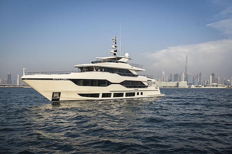 Majesty 120/01 yacht at Dubai