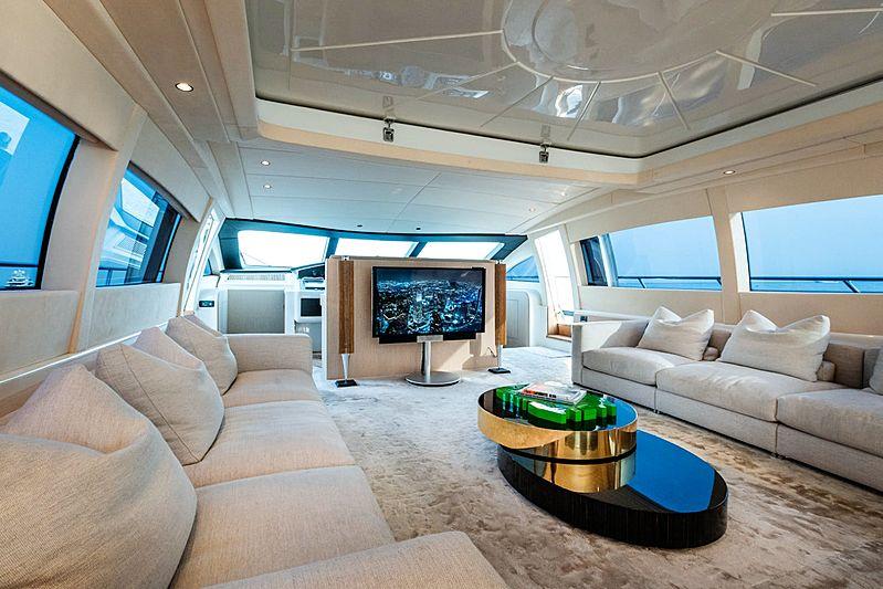 Neoprene yacht saloon