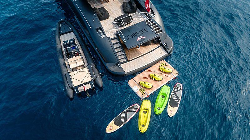 Neoprene yacht toys and tender