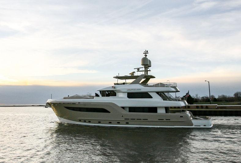 Burger's 32m superyacht Northland