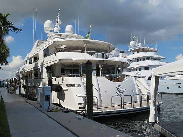 Gigi yacht at Fort Lauderdale