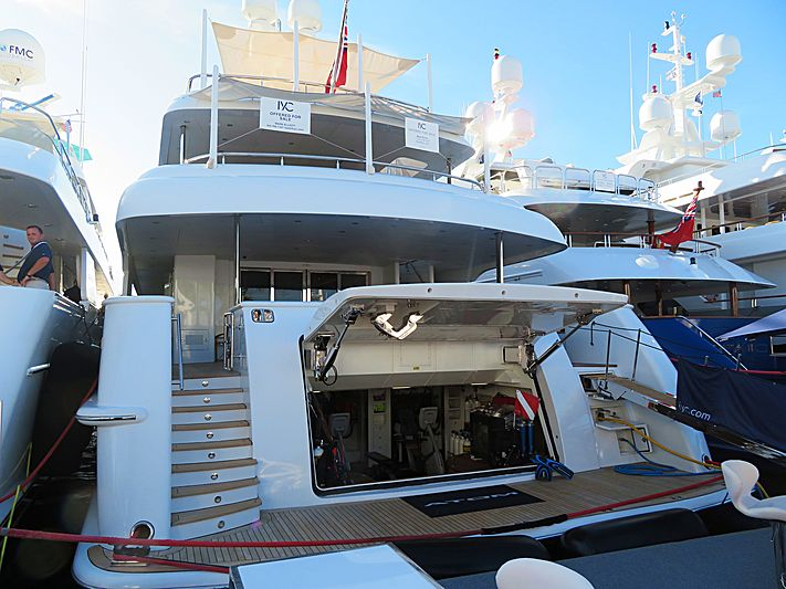 Atom yacht at Fort Lauderdale International Boat Show 2019