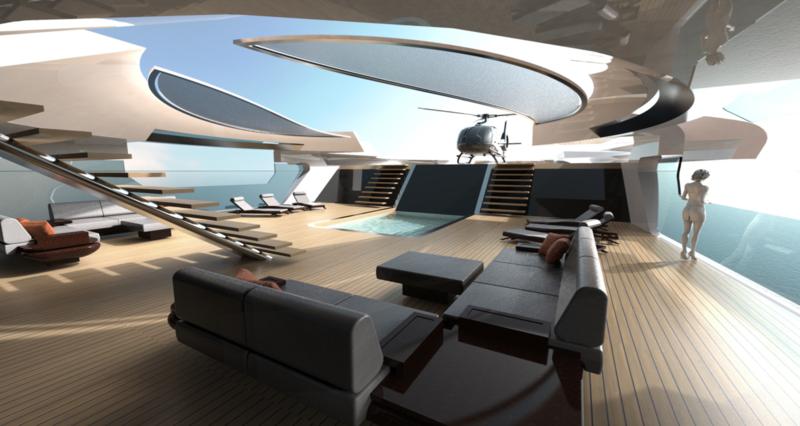 Ken Freivokh Design 140m Motor Yacht