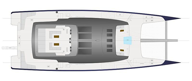 Sunreef MM 460 CAT yacht concept