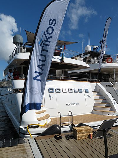 Double E yacht at Fort Lauderdale International Boat Show 2019