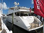Fugitive yacht at Fort Lauderdale International Boat Show 2019