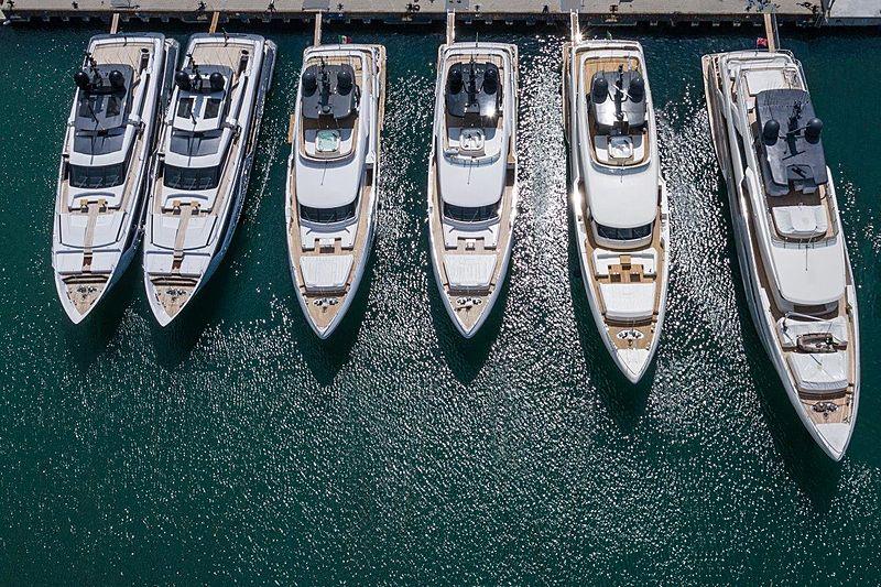 Custom Line yacht fleet