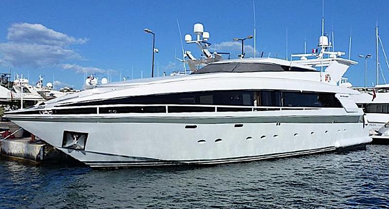 Dervis III yacht in marina