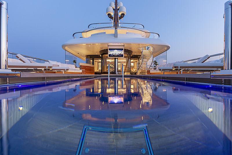 Hasna yacht pool