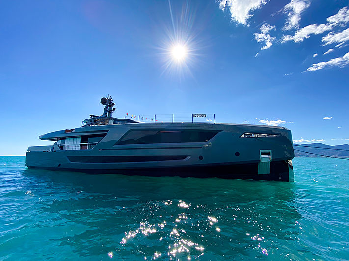 Panam yacht launch in La Spezia