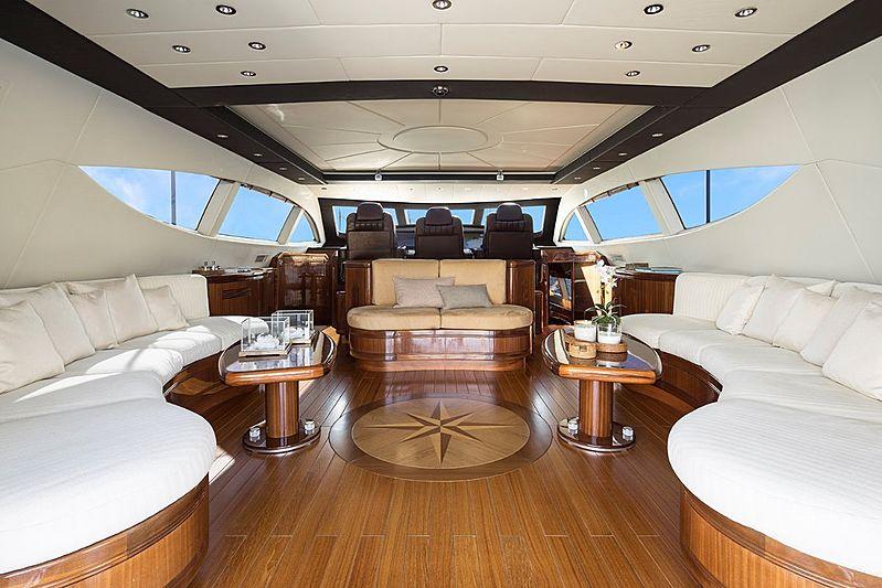 Hells Bells yacht saloon