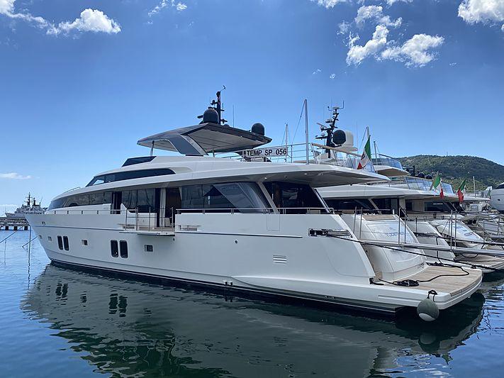 RL Together yacht in marina