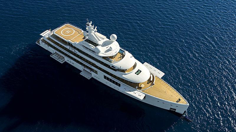 Luminosity yacht exterior