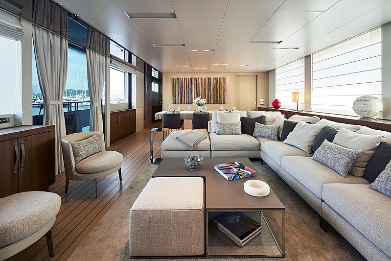 RL Together yacht saloon