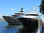 Never Enough yacht at Fort Lauderdale International Boat Show 2019
