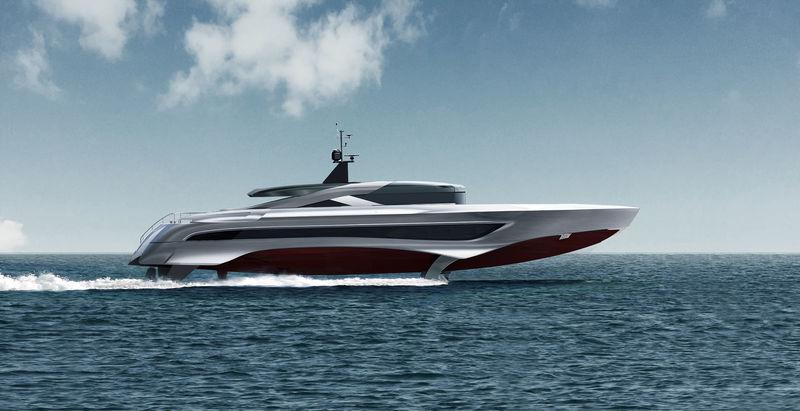 Skripnik Design 37M Foiling Superyacht Concept