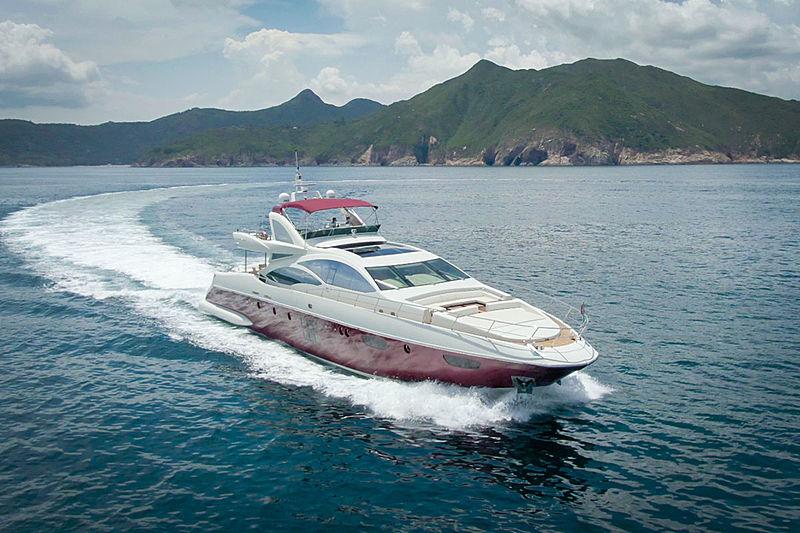 Aquarius yacht cruising