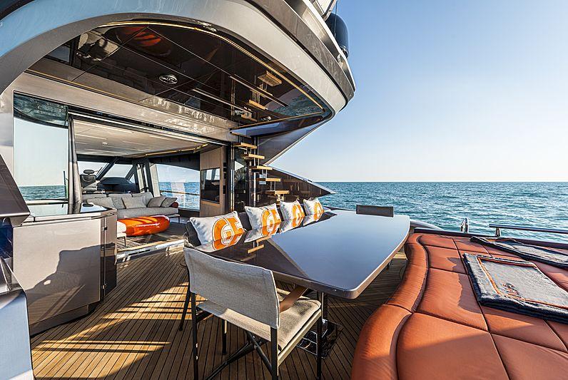 G-Five yacht deck