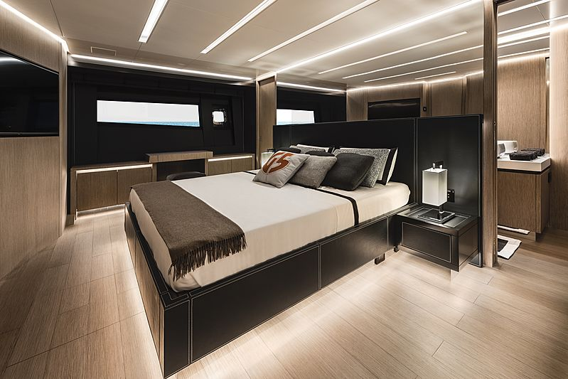 G-Five yacht stateroom