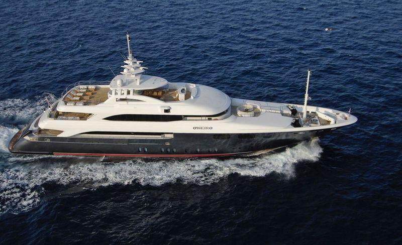 O'Neiro cruising in Greece
