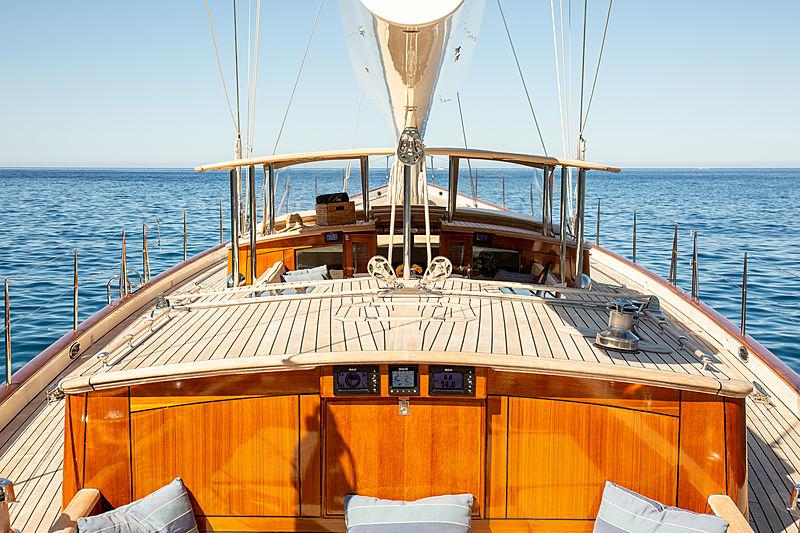 Kealoha yacht cockpit
