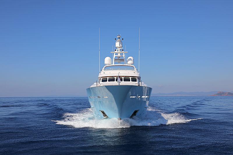 Awatea yacht cruising