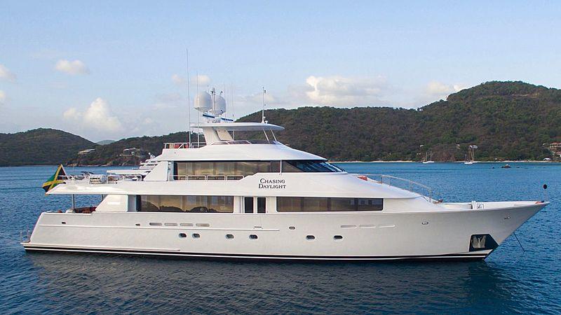 CHASING DAYLIGHT yacht Westport