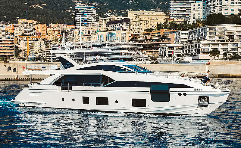 Cristiano Ronaldo Yacht Cg Mare In Monaco Superyacht Times