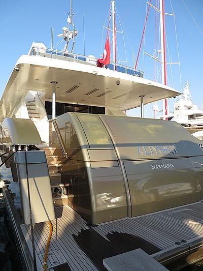Aliyoni yacht at Pendik Marina