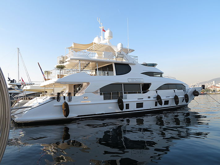 Twinzz yacht at Pendik Marina