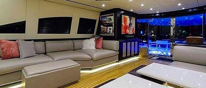 Negoseator yacht interior saloon