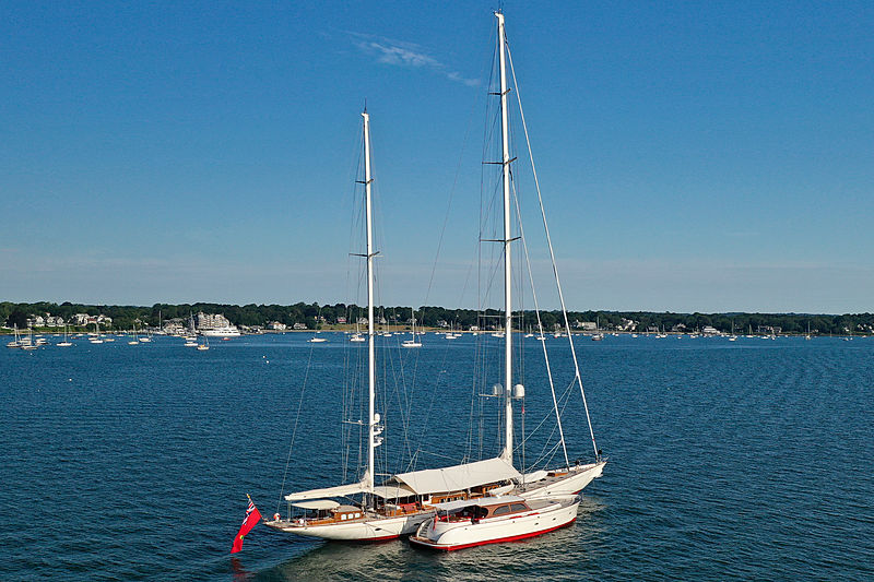 Adele yacht by Vitters Shipyard in Newport, USA