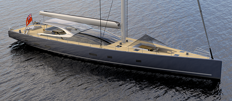 MM38 yacht concept exterior renders