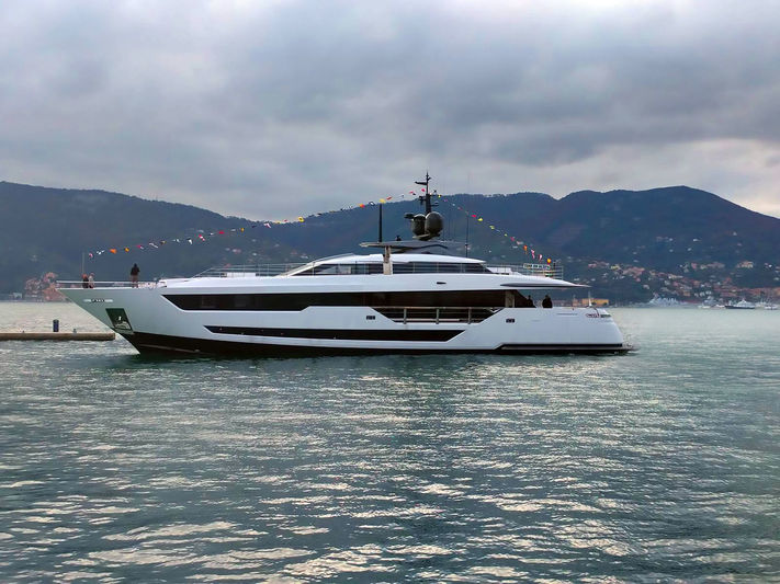 Custom Line 120/01 launched in La Spezia