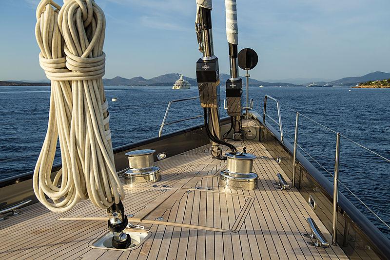 Pink Gin VI yacht deck