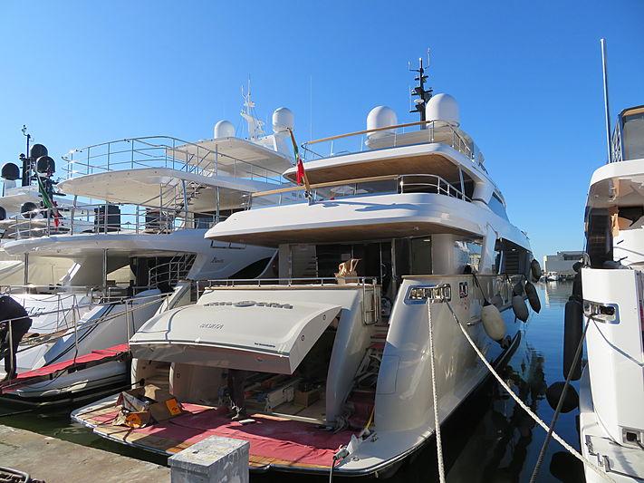 KIA ORA yacht Sanlorenzo