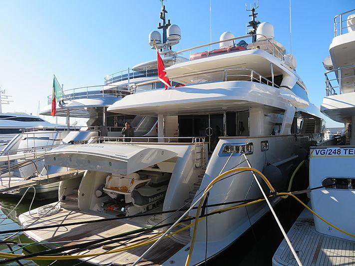 NAMASTE yacht Sanlorenzo