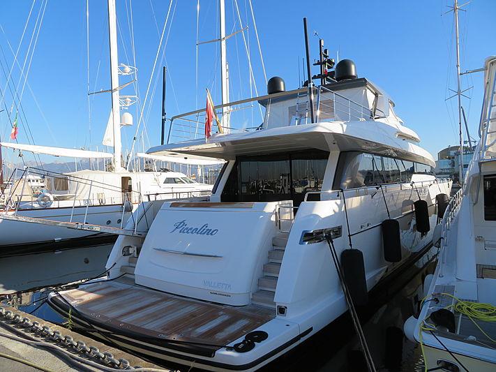 Piccolino yacht at Viareggio
