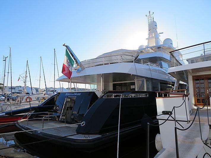 Stella di Mare yacht at Viareggio