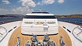Grace yacht bow deck