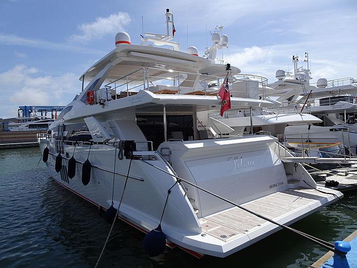 SILVIA yacht Azimut