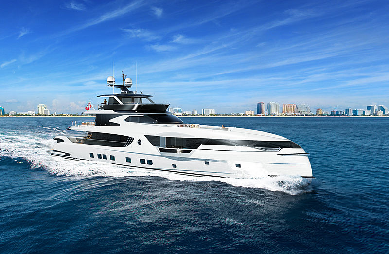 Dynamiq GTT 165 yacht exterior design