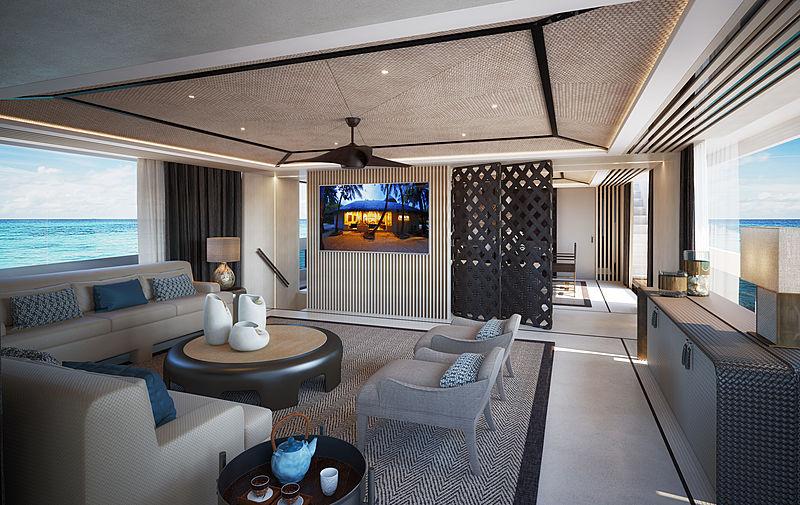 Dynamiq GTT 165 yacht interior design