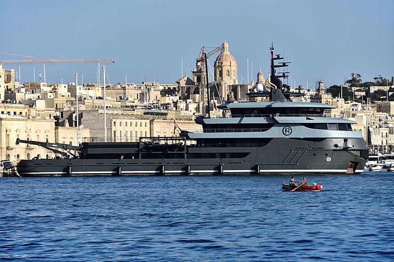 Ragnar yacht in Malta