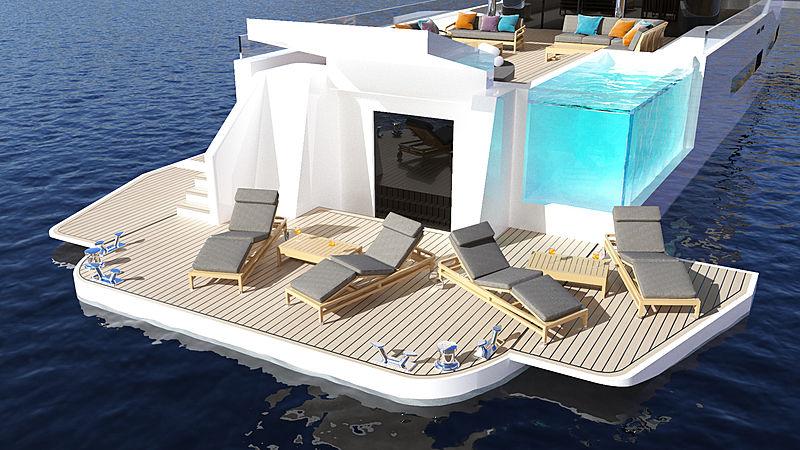 Diana Yacht Design concept yacht Zenith
