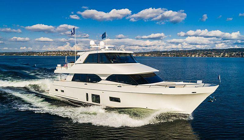 OCEAN ALEXANDER 88E21 yacht Ocean Alexander