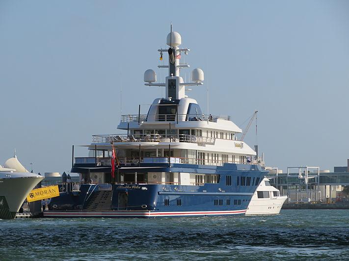 Bella Vita yacht at Miami Yacht Show 2020