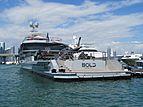 Bold yacht at Miami Yacht Show 2020