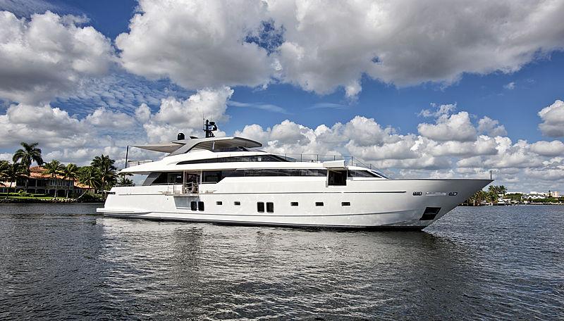 Andinoria yacht anchored