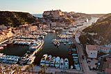 Bold yacht by SilverYachts in Bonifacio, France